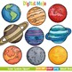 Solar System and Planet Clipart