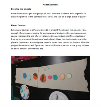 Solar System and Planets Lesson