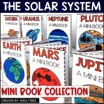 Solar System and Planets Mini Books