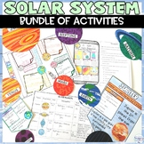 Solar System and Planets Reading Worksheets Poster Project Unit