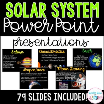solar system and planets powerpoint presentations by double dose of