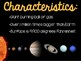 Solar System and Planets PowerPoint Presentations BUNDLE