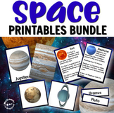 Solar System and Space Bundle with Close Up Cards, Planets