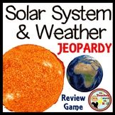 Solar System and Weather Game Show - Classroom Review Game