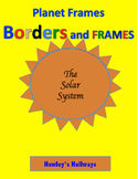 Solar System borders and frames