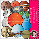 Solar System clip art - COMBO PACK- by Melonheadz