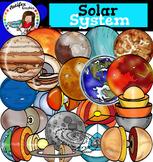 Solar System clip art- 50 items!