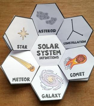 solar system foldable notebook - photo #9