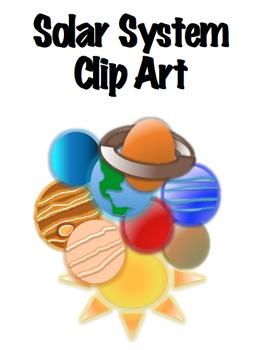Solar System/Planet ClipArt