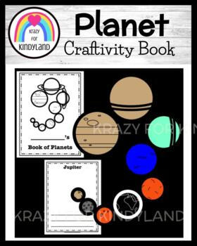 Phases of the Moon / Solar System / Space: Planet Craft and Writing Book