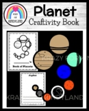 Phases of the Moon / Solar System / Space: Planet Craft and Writing Book for K