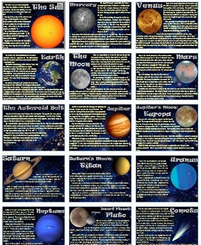 Solar Systems and Dichotomous Keys