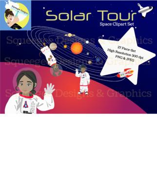 Solar Tour Space Clipart