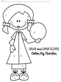 Solar Eclipse and Lunar Eclipse BUNDLE