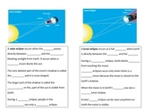 Solar and Lunar Eclipse Guided Notes