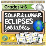 Solar eclipse 2017- Interactive science notebook foldables