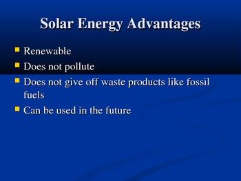 Solar and Nuclear Energy