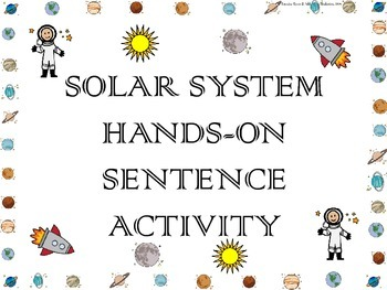 Solar System ~ Creating and Writing Sentences