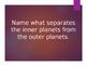 Solary System Jeopardy