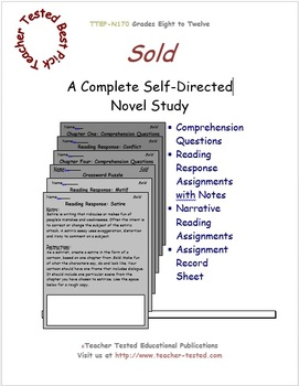 Sold: A Complete Novel Study