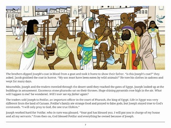 Sold into Slavery (the life of Joseph) Bible story