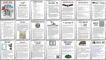 Soldier Bear Book Study & Critical Literacy grades 2-middle school