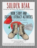 Soldier Bear Book Study & Critical Literacy grades 2-middl