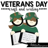 Veterans Day Craft and Writing Templates