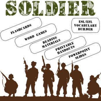 Soldier ESL / EFL Vocabulary Builder - English+Chinese
