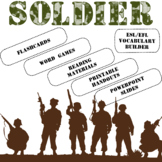 Soldier ESL / EFL Vocabulary Builder - English+Chinese
