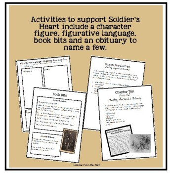 Soldier's Heart Activities and Assessments to Supplement Gary Paulsen's Novel