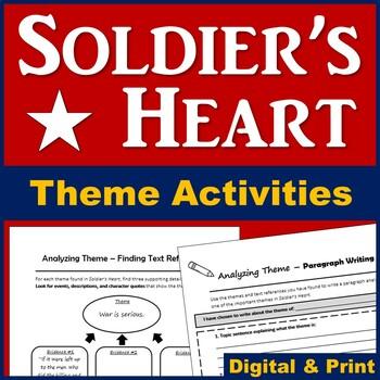 Soldier's Heart Novel Theme - Plus Writing