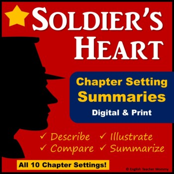 Soldier's Heart Setting - Compare Each Chapter