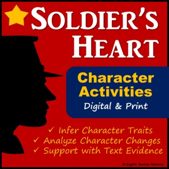 Soldier's Heart Novel Characterization Worksheets