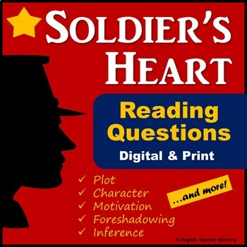 Soldier's Heart Novel Reading Questions