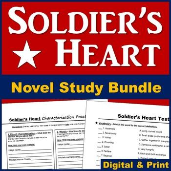 Soldier's Heart Novel Unit - Save 20%!