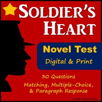 Soldier's Heart Novel Test