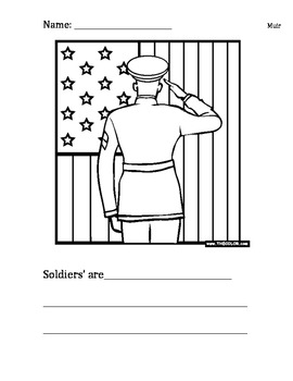 Soldiers are...