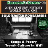 Soldiers are Dreamers: The Songs and Poetry of World War One