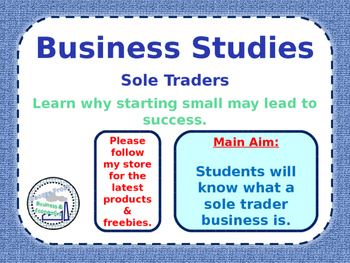 Sole Traders - Types of Business Ownership - Unlimited Lia