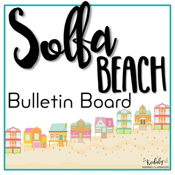 Solfa Beach Printables and Bulletin Board Kit