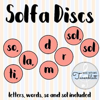 Solfa Discs: Coral Pink