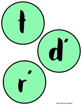 Solfa Discs: Green