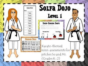 Solfa Dojo Levels 1 - 6