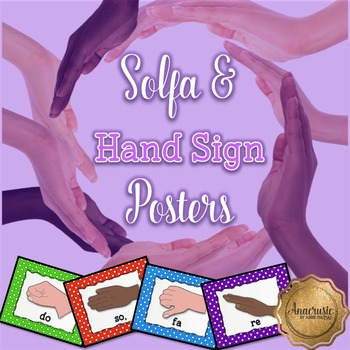 Solfa Hand Sign Posters
