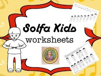 Solfa Kids song worksheets