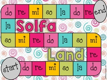 Solfa Land - A Game for Practicing Solfege - Hand signs and notes on the staff