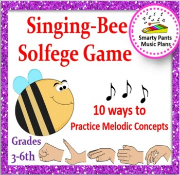 Solfa {Melodic Concepts Singing Bee Solfa Game}