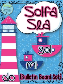 Solfa Sea {Bulletin Board Set}