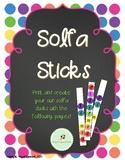 Solfa Sticks